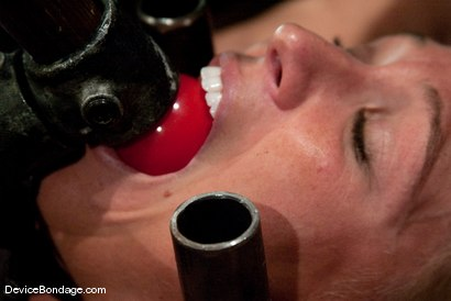 Photo number 8 from Mellanie Monroe   Happy Thanksgiving. shot for Device Bondage on Kink.com. Featuring Mellanie Monroe in hardcore BDSM & Fetish porn.