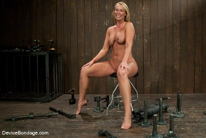 Photo number 14 from Mellanie Monroe <br> Happy Thanksgiving. shot for Device Bondage on Kink.com. Featuring Mellanie Monroe in hardcore BDSM & Fetish porn.