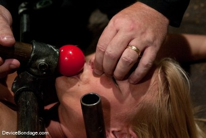 Photo number 7 from Mellanie Monroe <br> Happy Thanksgiving. shot for Device Bondage on Kink.com. Featuring Mellanie Monroe in hardcore BDSM & Fetish porn.
