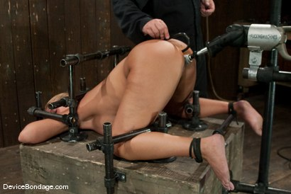 Photo number 1 from Mellanie Monroe<br>Look at that PHAT ass! Yummy! shot for Device Bondage on Kink.com. Featuring Mellanie Monroe in hardcore BDSM & Fetish porn.