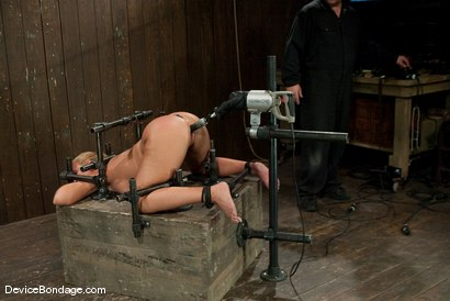 Photo number 7 from Mellanie Monroe<br>Look at that PHAT ass! Yummy! shot for Device Bondage on Kink.com. Featuring Mellanie Monroe in hardcore BDSM & Fetish porn.