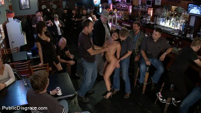 Photo number 3 from Big Tittied Charley Chase  shot for Public Disgrace on Kink.com. Featuring Charley Chase and Mark Davis in hardcore BDSM & Fetish porn.