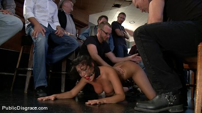 Photo number 4 from Big Tittied Charley Chase  shot for Public Disgrace on Kink.com. Featuring Charley Chase and Mark Davis in hardcore BDSM & Fetish porn.