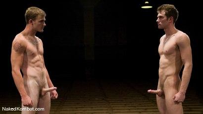Photo number 15 from Shane Erickson vs Christian Wilde<br />The Oil Match shot for Naked Kombat on Kink.com. Featuring Shane Erickson and Christian Wilde in hardcore BDSM & Fetish porn.