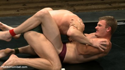 Photo number 1 from Shane Erickson vs Christian Wilde<br />The Oil Match shot for Naked Kombat on Kink.com. Featuring Shane Erickson and Christian Wilde in hardcore BDSM & Fetish porn.