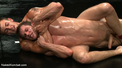 Photo number 8 from Shane Erickson vs Christian Wilde<br />The Oil Match shot for Naked Kombat on Kink.com. Featuring Shane Erickson and Christian Wilde in hardcore BDSM & Fetish porn.