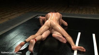 Photo number 9 from Shane Erickson vs Christian Wilde<br />The Oil Match shot for Naked Kombat on Kink.com. Featuring Shane Erickson and Christian Wilde in hardcore BDSM & Fetish porn.