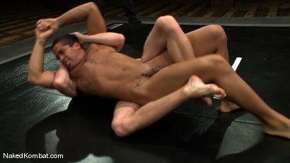Photo number 9 from Trey Turner vs Sebastian Keys shot for Naked Kombat on Kink.com. Featuring Trey Turner and Sebastian Keys in hardcore BDSM & Fetish porn.