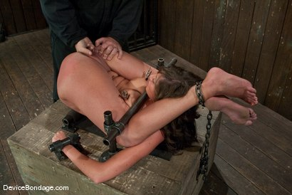 Photo number 10 from Angelica Saige<br>Sexy college girls are sexy. shot for Device Bondage on Kink.com. Featuring Angelica Saige in hardcore BDSM & Fetish porn.
