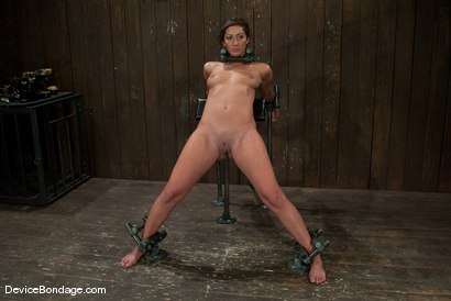 Photo number 1 from Angelica Saige   TTOO visits and brings a beaten Jade Indica. shot for Device Bondage on Kink.com. Featuring Angelica Saige in hardcore BDSM & Fetish porn.