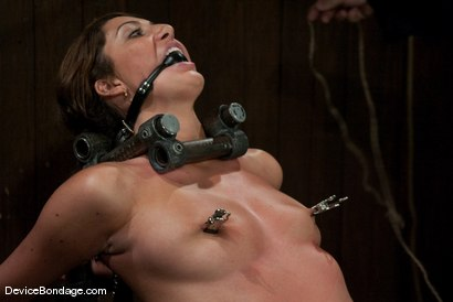 Photo number 12 from Angelica Saige   TTOO visits and brings a beaten Jade Indica. shot for Device Bondage on Kink.com. Featuring Angelica Saige in hardcore BDSM & Fetish porn.
