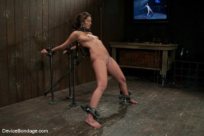 Photo number 4 from Angelica Saige   TTOO visits and brings a beaten Jade Indica. shot for Device Bondage on Kink.com. Featuring Angelica Saige in hardcore BDSM & Fetish porn.