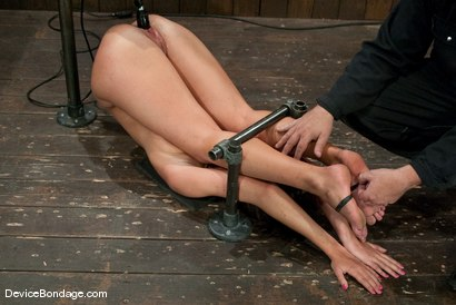 Photo number 12 from Angelica Saige<br>20yr old co-ed trapped by only one bar <br> brutally fucked by a machine! shot for Device Bondage on Kink.com. Featuring Angelica Saige in hardcore BDSM & Fetish porn.