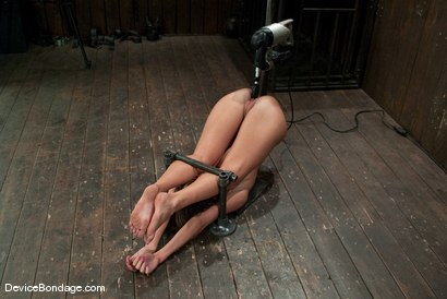 Photo number 13 from Angelica Saige<br>20yr old co-ed trapped by only one bar <br> brutally fucked by a machine! shot for Device Bondage on Kink.com. Featuring Angelica Saige in hardcore BDSM & Fetish porn.