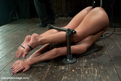 Photo number 10 from Angelica Saige<br>20yr old co-ed trapped by only one bar <br> brutally fucked by a machine! shot for Device Bondage on Kink.com. Featuring Angelica Saige in hardcore BDSM & Fetish porn.