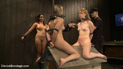 Photo number 4 from Jessie Cox, Ami Emerson, and Isis Love<br> Part 4 of 4 of the September Live Feed shot for Device Bondage on Kink.com. Featuring Jessie Cox, Ami Emerson and Isis Love in hardcore BDSM & Fetish porn.