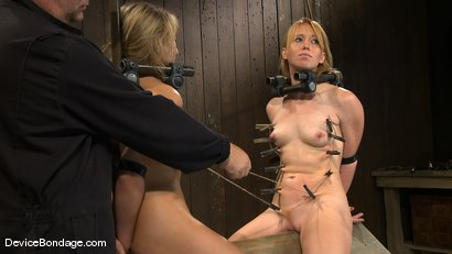 Photo number 10 from Jessie Cox, Ami Emerson, and Isis Love<br> Part 4 of 4 of the September Live Feed shot for Device Bondage on Kink.com. Featuring Jessie Cox, Ami Emerson and Isis Love in hardcore BDSM & Fetish porn.