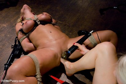 Photo number 5 from Big Tits, Round Ass shot for Wired Pussy on Kink.com. Featuring Lorelei Lee and Mellanie Monroe in hardcore BDSM & Fetish porn.
