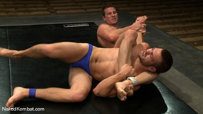 Photo number 2 from Rusty Stevens vs Tommy Defendi <br />The Oil Match shot for Naked Kombat on Kink.com. Featuring Rusty Stevens and Tommy Defendi in hardcore BDSM & Fetish porn.