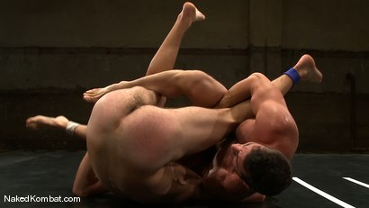 Photo number 9 from Rusty Stevens vs Tommy Defendi <br />The Oil Match shot for Naked Kombat on Kink.com. Featuring Rusty Stevens and Tommy Defendi in hardcore BDSM & Fetish porn.