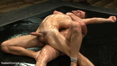 Photo number 8 from Rusty Stevens vs Tommy Defendi <br />The Oil Match shot for Naked Kombat on Kink.com. Featuring Rusty Stevens and Tommy Defendi in hardcore BDSM & Fetish porn.