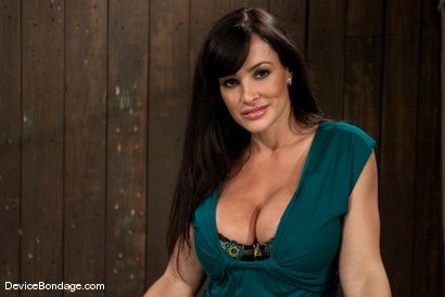 Photo number 2 from Lisa Ann<br>She played Sarah Palin for porn, lets just see how rogue she really is. shot for Device Bondage on Kink.com. Featuring Lisa Ann in hardcore BDSM & Fetish porn.