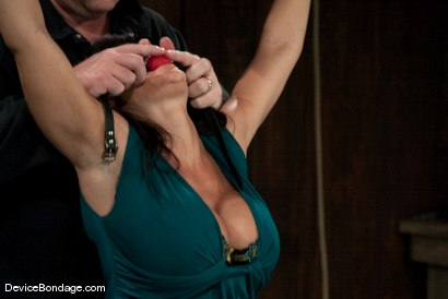 Photo number 3 from Lisa Ann<br>She played Sarah Palin for porn, lets just see how rogue she really is. shot for Device Bondage on Kink.com. Featuring Lisa Ann in hardcore BDSM & Fetish porn.
