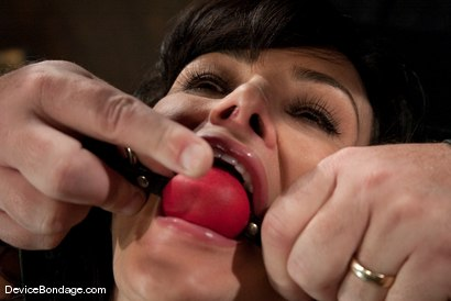 Photo number 4 from Lisa Ann<br>She played Sarah Palin for porn, lets just see how rogue she really is. shot for Device Bondage on Kink.com. Featuring Lisa Ann in hardcore BDSM & Fetish porn.
