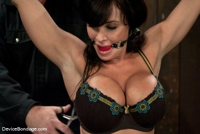 Photo number 5 from Lisa Ann<br>She played Sarah Palin for porn, lets just see how rogue she really is. shot for Device Bondage on Kink.com. Featuring Lisa Ann in hardcore BDSM & Fetish porn.