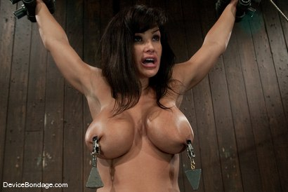 Photo number 9 from Lisa Ann<br>She played Sarah Palin for porn, lets just see how rogue she really is. shot for Device Bondage on Kink.com. Featuring Lisa Ann in hardcore BDSM & Fetish porn.