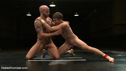 Photo number 9 from Drake Jaden vs. Krist Cummings shot for Naked Kombat on Kink.com. Featuring Krist Cummings  and Drake Jaden in hardcore BDSM & Fetish porn.