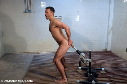Photo number 5 from Conner Habib shot for Butt Machine Boys on Kink.com. Featuring Conner Habib in hardcore BDSM & Fetish porn.