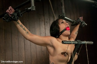 Photo number 6 from DragonLily<br><br> Another trip to sub-space, gone.... shot for Device Bondage on Kink.com. Featuring DragonLily in hardcore BDSM & Fetish porn.