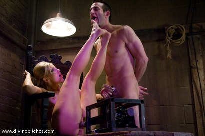 Photo number 12 from Educating a Bitchboy Episode: 2 shot for Divine Bitches on Kink.com. Featuring Ashley Fires and Jason Miller in hardcore BDSM & Fetish porn.