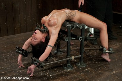 Photo number 11 from Micah Moore<br>Oiled, bent, fucked and fucked hard! shot for Device Bondage on Kink.com. Featuring Micah Moore in hardcore BDSM & Fetish porn.