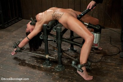 Photo number 14 from Micah Moore<br>Oiled, bent, fucked and fucked hard! shot for Device Bondage on Kink.com. Featuring Micah Moore in hardcore BDSM & Fetish porn.