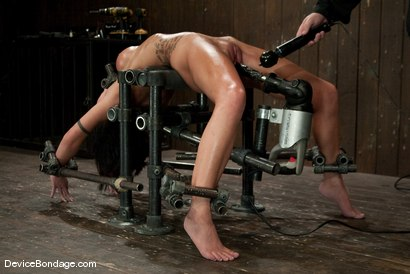 Photo number 5 from Micah Moore<br>Oiled, bent, fucked and fucked hard! shot for Device Bondage on Kink.com. Featuring Micah Moore in hardcore BDSM & Fetish porn.