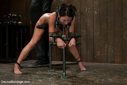 Photo number 13 from Micah Moore<br> Bound, oiled, what an ass! shot for Device Bondage on Kink.com. Featuring Micah Moore in hardcore BDSM & Fetish porn.