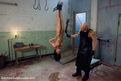 Photo number 5 from The Butcher shot for Sex And Submission on Kink.com. Featuring Derrick Pierce and Alicia Stone in hardcore BDSM & Fetish porn.