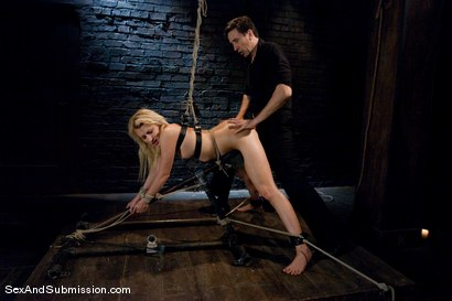 Photo number 10 from Bonus: Mallory Rae Murphy shot for Sex And Submission on Kink.com. Featuring Mallory Rae Murphy and Steve Holmes in hardcore BDSM & Fetish porn.