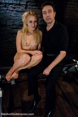 Photo number 15 from Bonus: Mallory Rae Murphy shot for Sex And Submission on Kink.com. Featuring Mallory Rae Murphy and Steve Holmes in hardcore BDSM & Fetish porn.