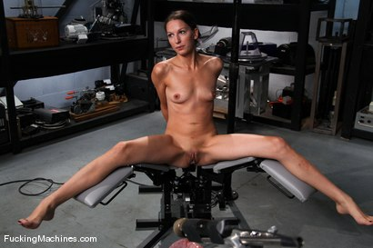 Photo number 1 from AMATEUR GIRL FRIDAYS <br> Kali shot for Fucking Machines on Kink.com. Featuring Cali in hardcore BDSM & Fetish porn.