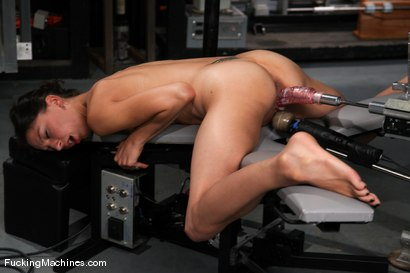 Photo number 11 from AMATEUR GIRL FRIDAYS <br> Kali shot for Fucking Machines on Kink.com. Featuring Cali in hardcore BDSM & Fetish porn.
