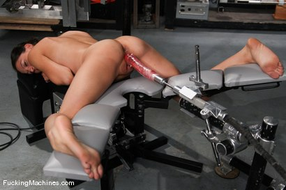 Photo number 8 from AMATEUR GIRL FRIDAYS <br> Kali shot for Fucking Machines on Kink.com. Featuring Cali in hardcore BDSM & Fetish porn.