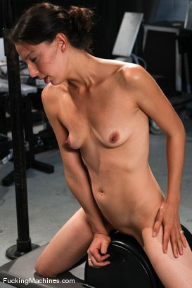 Photo number 14 from AMATEUR GIRL FRIDAYS <br> Kali shot for Fucking Machines on Kink.com. Featuring Cali in hardcore BDSM & Fetish porn.