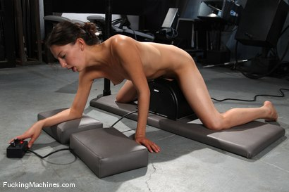 Photo number 12 from AMATEUR GIRL FRIDAYS <br> Kali shot for Fucking Machines on Kink.com. Featuring Cali in hardcore BDSM & Fetish porn.