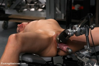 Photo number 6 from AMATEUR GIRL FRIDAYS <br> Kali shot for Fucking Machines on Kink.com. Featuring Cali in hardcore BDSM & Fetish porn.