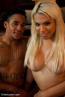 Photo number 15 from The New Maid   Annalise shot for TS Seduction on Kink.com. Featuring Annalise and Lobo in hardcore BDSM & Fetish porn.