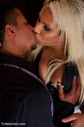 Photo number 3 from The New Maid   Annalise shot for TS Seduction on Kink.com. Featuring Annalise and Lobo in hardcore BDSM & Fetish porn.