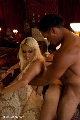 Photo number 5 from The New Maid   Annalise shot for TS Seduction on Kink.com. Featuring Annalise and Lobo in hardcore BDSM & Fetish porn.